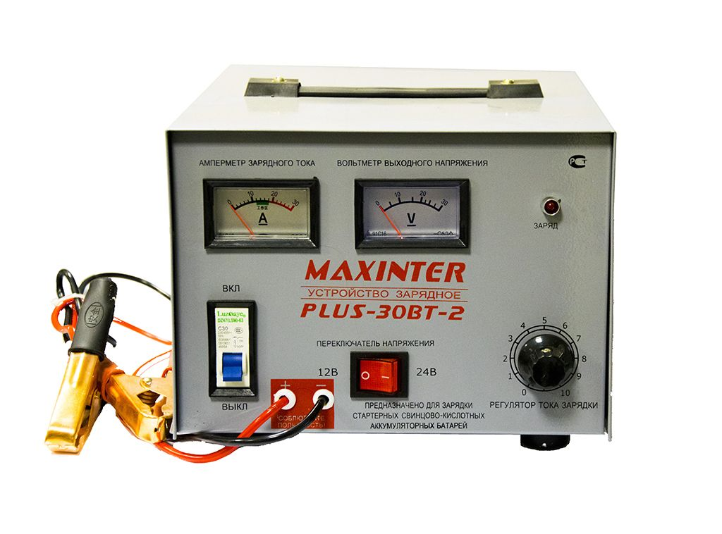 Купить ЗУ MAXINTER PLUS - 30 BТ-2 (12В, 30А)